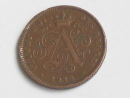 2 Centimes 1912 - Belgique - Albert  Roi Des Belges  **** EN ACHAT IMMEDIAT **** - 1909-1934: Albert I