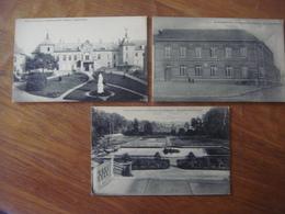 Lot De 3 Cartes De LEMBECQ LEZ HAL ( Lembeek Halle ) - Maison St Joseph (1 Carte Rare Et 1 Peu Courante) - Halle