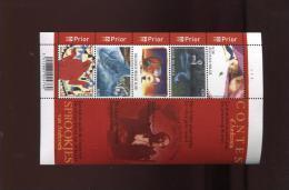 Belgie Blok Feuillet BL125 H.C. ANDERSEN PLAATNUMMER 1  Onder Postprijs Sous Faciale !!! - Blocks & Sheetlets 1962-....