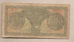 Grecia - Banconota Circolata Da 500 Dracme P-325a - 1950 - Grecia