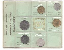 Italia - Serie Annuale In Confezione FDC 6 Monete - 1977 - 1946-… : Repubblica