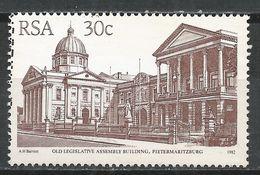 South Africa 1986. Scott #598 (U) Old Legislative Assembly Building, Pietermaritzburg * - Afrique Du Sud (1961-...)