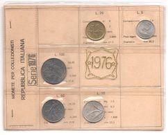 Italia - Serie Annuale In Confezione FDC 5 Monete - 1976 - 1946-… : Repubblica