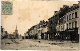 27 CPA ROUTOT La Grande Rue Magasin Grand Choix De Meubles Et Literie - Routot