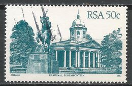 South Africa 1986. Scott #599 (U) Raadsaal, Bloemfontein * - Afrique Du Sud (1961-...)