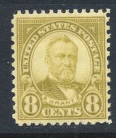 U.S.A. #560 Series Of 1922-25 8¢ Ulysses S. Grant/olive Green / MNH - United States