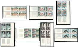 FRANCE 1963 YT N° 1390/94A  TOURISME, 7 Valeurs En CD ** - France