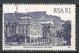 South Africa 1982. Scott #600 (U) Houses Of Parliament, Cape Town * - Afrique Du Sud (1961-...)