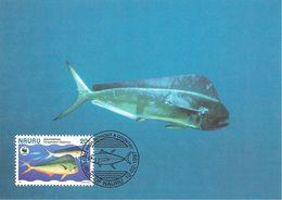 1997 - NAURU - Coryphène Ou Poisson Dauphin  -  Dolphinfish - Nauru