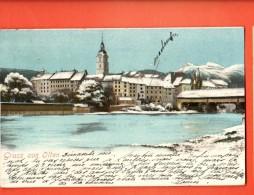 GBU-20  Gruss Aus Olten. Im Winter. Pionier. Gelaufen In 1910 - AG Argovie