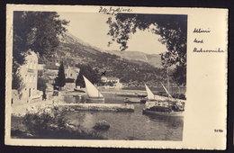 CROATIA DUBROVNIK MLINI OLD POSTCARD 1937 - Croatia