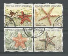 Papua N. Guinea 1987 Sea Star Y.T. 547/550 (0) - Papua New Guinea