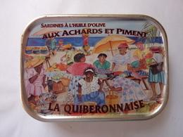 LA QUIBERONNAISE - Sardines à L'huile D'olive Aux Achards Et Piment - Other Collections