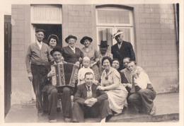 Foto Photo (6 X 8,5 Cm) Man Met Accordeon Accordéon Akkordeon - Muziek