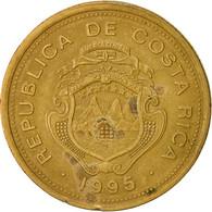 Costa Rica, 100 Colones, 1995, TB+, Brass Plated Steel, KM:230 - Costa Rica