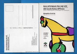 (Riz.2) Val.d'Aosta- MOSTRA Dell'ARTIGIANATO TIPICO. 1992 -   Vedi Descrizione - Eventi