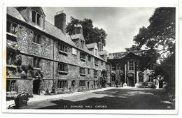 Inghilterra Oxford Edmund Hall Viaggiata 1955 - Oxford