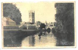 Inghilterra Oxford Magdalen Tower & Brings Non Viaggiata - Oxford