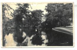 Inghilterra Oxford The Lake Woncester College  Non Viaggiata - Oxford