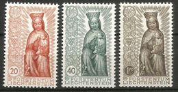 1954 LIECHTENSTEIN    Anno Mariano Serie Completa Nuova ** MNH - 1949-... Repubblica D'Irlanda