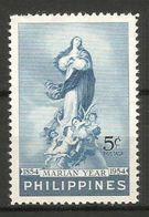 1954 FILIPPINE   Anno Mariano Serie Completa Nuova ** MNH - Filippine