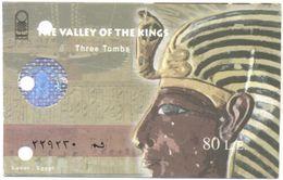 EGITTO - EGYPTE - Egypt - Ticket D'entrée - The Valley Of The Kings - Three Tombs - Biglietto Di Ingresso - Biglietti D'ingresso