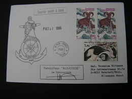 TAAF Cv. Pinguin 1986 - Französische Süd- Und Antarktisgebiete (TAAF)