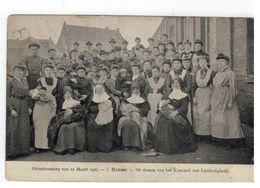 Overstroomingvan 12 Maart 1906. - 5.Hamme. - De Damen Van Het Komiteit Van Liefdadigheid - Hamme