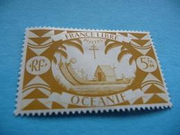 TIMBRE   OCEANIE      N  166      COTE  1,30   EUROS    NEUF  TRACE  CHARNIERE - Oceania (1892-1958)