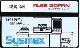 Telefoonkaart  LANDIS&GYR  NEDERLAND * RCZ.136.02  104H * CHARLES GOFFIN  *  TK * ONGEBRUIKT * MINT - Privé