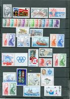 ST. PIERRE & MIQUELON LOT Of 42 Incl. 2 SETS Cod Ships Hockey Views More MNH WYSIWYG A04s - Collections, Lots & Séries