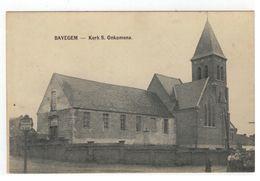 BAVEGEM   -   Kerk S. Onkomena - Sint-Lievens-Houtem