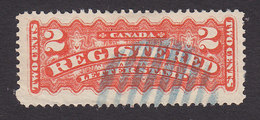 Canada, Scott #F1, Used, Registration Stamp, Issued 1875 - Registration & Officially Sealed