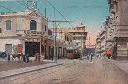 Carte Postale : Le Caire Cairo  (Egypte)  Kursaal Casino   Tram     N° 831 - El Cairo