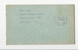 Commercial Card * Portugal * 1953-54 * Boas Festas * A Industrial De Minérios De Matosinhos, Lda - Briefe U. Dokumente