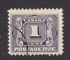 Canada, Scott #J1, Used, Postage Due, Issued 1906 - Portomarken