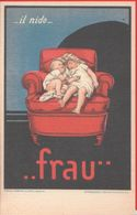 Il Nido.... Frau (Riproduzione) Non Viaggiata - Advertising