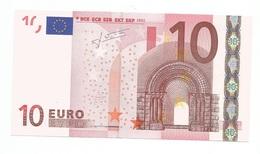 10 Euro TRICHET S ITALIA  J008 .. RARISSIMA - EURO