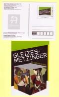 PAP Entier L´Adresse Musée De La Poste, Gleizes Metzinger Cubisme Peinture Art, Femme à Une Fenêtre, Le Goûter - Entiers Postaux
