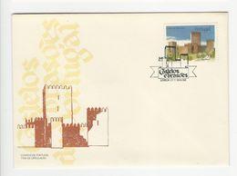 Cover FDC * Portugal * 1986 * Lisboa * Castelos E Brasões - FDC