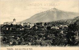 CPA Tenerife. ICOD CON EL Pico De Teide SPAIN (674053) - Tenerife