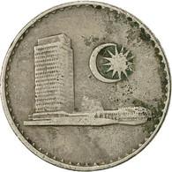 Malaysie, 10 Sen, 1977, Franklin Mint, TTB, Copper-nickel, KM:3 - Malaysie