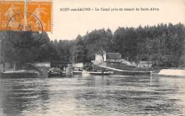 70 - SCEY-sur-SAONE - Le Canal Près Du Tunnel De Saint-Albin - Unclassified