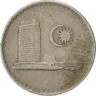 Malaysie, 10 Sen, 1982, Franklin Mint, TTB, Copper-nickel, KM:3 - Malaysie