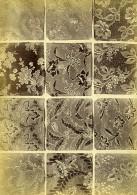 France Photographie Albumine Etoffes Anciennes Par Armand Guerinet Vers 1880 #7 - Photographs