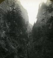 Suisse Via Mala Ancienne Photo Stereo Stereoscope ASC 1900 - Stereoscopic