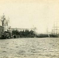 Italie Venise Basilique Santa Maria Della Salute Ancienne Stereo SIP Photo 1900 - Stereoscopic