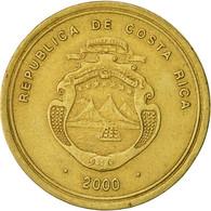 Costa Rica, 100 Colones, 2000, TB+, Laiton, KM:240 - Costa Rica