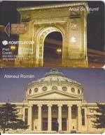 ROMANIA - Arcul De Tiumf, Ateneul Roman, 04/03, Sample(no CN) - Romania