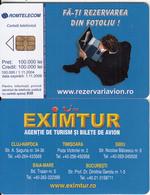ROMANIA - TUI/'Eximtur, Exp.date 01/11/04, Sample(no CN) - Romania